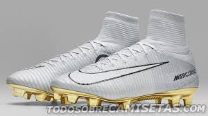 white and gold mercurial superfly