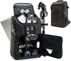 USA GEAR SLR Camera Backpack Case (Black ... - Amazon.com