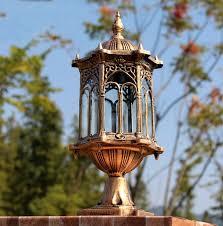 <b>Outdoor lighting ball column</b> light outdoor pillar garden lamp post ...