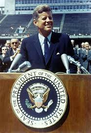 """Quote of the moment: John F. Kennedy, """"We choose to go to the Moon ... via Relatably.com"""