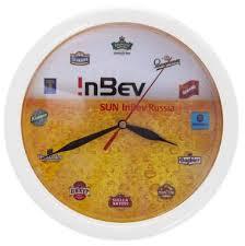 <b>Настенные часы</b> с логотипом компании на заказ в Москве