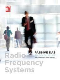 RFS Passive DAS Selection Guide - <b>High</b>-Performance Indoor ...