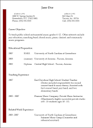 Resumes - National Association for Music Education (NAfME)