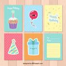 Цветные поздравительные открытки