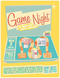 game night flyer template teamtractemplate s related pictures family fun night flyer lfgxg0gm