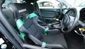 BRIDE's <b>Sport Seats</b> lineup for every type of driver