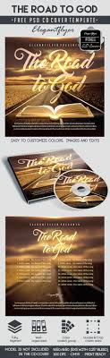 church by elegantflyer the road to god cd cover psd template