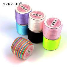 Hot Deal #d3d2a - <b>TYRY</b>.<b>HU 45</b> Meters Satin Silk Rope 2mm Nylon ...