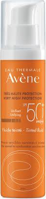 Avene <b>Солнцезащитный флюид</b>, тонирующий, SPF 50+, 50 мл ...