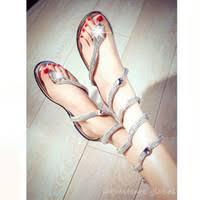 Wholesale Rhinestone Silver <b>Flip Flops</b> for Resale - Group <b>Buy</b> ...