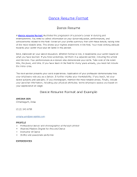 resume format dance teacher   charity cover letter templateresume format dance teacher dance teacher resume best sample resume dance resume format by sayeds