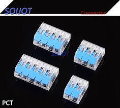 (30 <b>100</b>)<b>pcs</b>/<b>lot Mini</b> Fast Wire Connector Universal Wiring Cable ...