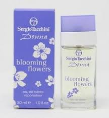 (Ad) <b>Sergio Tacchini</b> Donna <b>Blooming Flowers</b> Eau de Toilette 1oz