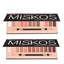 2pcs Nude <b>Eyeshadow Palette 12</b> Color Naked Matte <b>Shimmer</b> ...