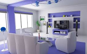 room blue white odern stunning