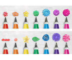48Pcs Complete Cake Decorating Nozzle Sets <b>Cream</b> Pastry Icing ...