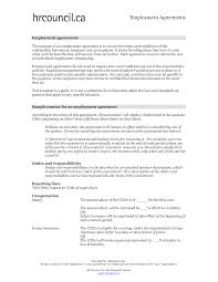 employment agreement template wordtemplates net employment agreement template