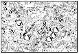 Small Picture Under the sea coloring pages for adults ColoringStar