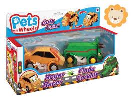 <b>Pets on Wheels</b>: раз — машинка, два — зверушка