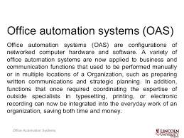 office automation advantages of office automation
