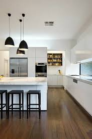 modern kitchens design white marble black bar stool pendants black modern kitchen pendant lights