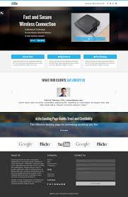 best internet marketing landing page templates the elite internet marketing landing page can be used in different kinds of websites it has got features like