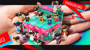 MINIATURE + Surprise Collectible <b>Dolls</b> Unboxing! | <b>Robotime</b> ...
