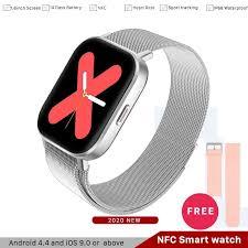 SL 2020 <b>GTR Smart Watch</b> Heart Rate Monitor Tracker NFC Sport ...
