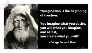 Imagination Is The Beginning Of Creation Famous Quote « QUOTEZ.CO via Relatably.com