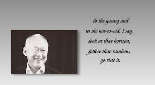 Here's how Lee Kuan Yew sounded like delivering the line about ...