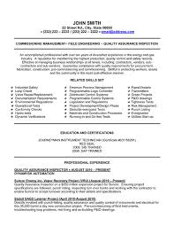 sample cover letter qa  seangarrette coprofessional quality assurance inspector field engineer resume samplep   sample cover letter qa