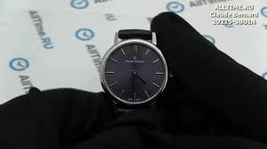 Обзор. Женские наручные <b>часы Claude Bernard 20215</b>-<b>3BUIN</b> ...