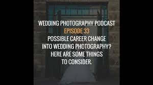 tips for making a career change into wedding photography