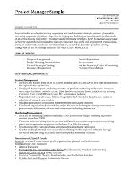 sample resumes for project managers   sample resumessample resumes for project managers