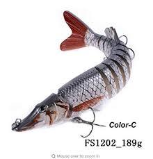 Buy <b>1PCS</b> segement <b>Fishing Lures</b> Lifelike <b>Pike Lures</b> Pesca ...