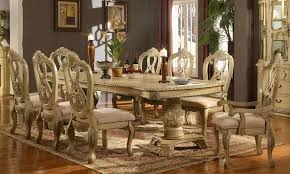 white traditional formal dining room