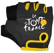 Tour de France Cycling Gloves <b>Black</b>/<b>Yellow</b> 800703_Noir/Jaune ...