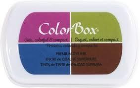 ColorBox <b>4</b>-<b>Color</b> Premium <b>Dye Ink</b> Pad | Fall – Paper Sweeties