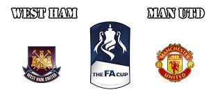 Hasil gambar untuk logo West Ham Vs Manchester United