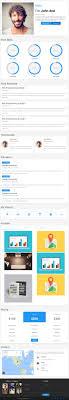 best resume and cv website template responsive miracle material cv resume and cv website template