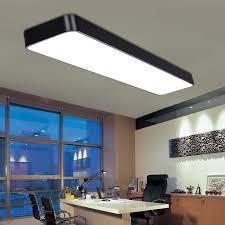 stylish modern led ceiling light whole single office led living room ceiling lighting bedroom light black ceiling lights for office
