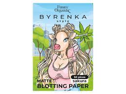 <b>Салфетки Funny Organix Byrenka</b> style матирующие Sakura, 50 ...