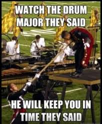 Drum Major(>-----<) on Pinterest   Drum Major, Marching Bands and ... via Relatably.com