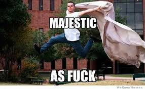 Majestic As Fuck | WeKnowMemes via Relatably.com