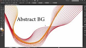 Illustrator Tutorial <b>Abstract</b> Design - YouTube