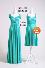 <b>Turquoise</b> Infinity Dress, <b>Bridesmaid Dress</b>, Convertible <b>Multiway</b> ...