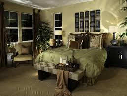 modern master bedroom bedding with matching curtains light green walls and bed cover with brown bedding for black furniture