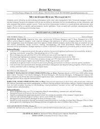 job resume retail sample