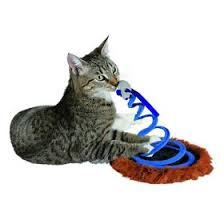 """<b>Игрушка Trixie</b> """"<b>Мышь на</b> пружине"""" для кошки, ф 20 х 25 см ..."""