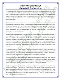 teaching philosophy essay   our work statement of teaching philosophy amp education